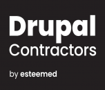 Drupal Contractors by esteemed logo